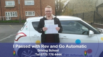 After several Instructors Stuart put me at ease and helped me finally pass my test first attempt, thanks Stuart...