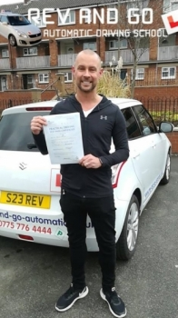Brilliant tuition and thorough instruction. I`m eternally grateful to Stuart for helping me to pass my test and I have no hesitation in recommending Rev and Go to hopeful drivers looking for excellent guidance and confidence begins the wheel.