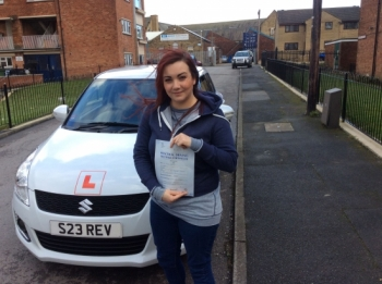 Thanks for being such a patient instructor, can´t believe I passed first time, all thanks to you!! Looking forward to doing some motorway driving soon !! xxx...